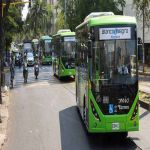 Entra en servicio primera flota de buses eléctricos del país
