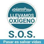 Empezó a llegar oxígeno y medicamentos a los municipios