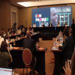 Presidente y empresarios del Valle lanzaron estrategia para el empleo joven