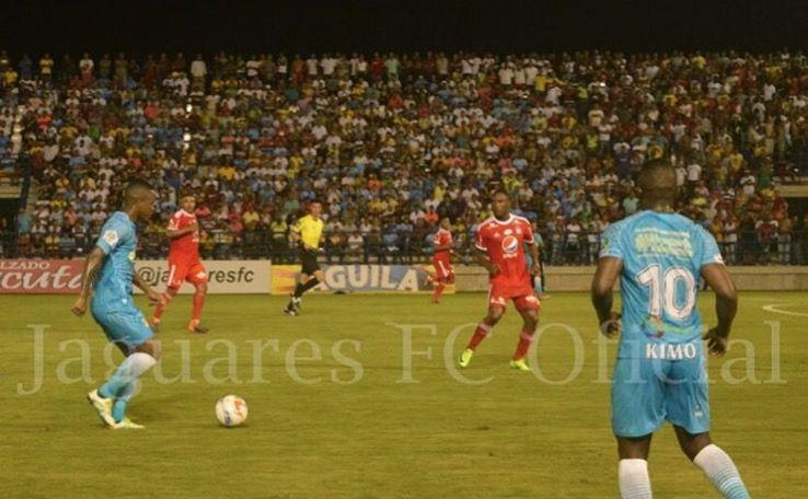 América de Cali cayó ante Jaguares 0 – 1 en el Jaraguay