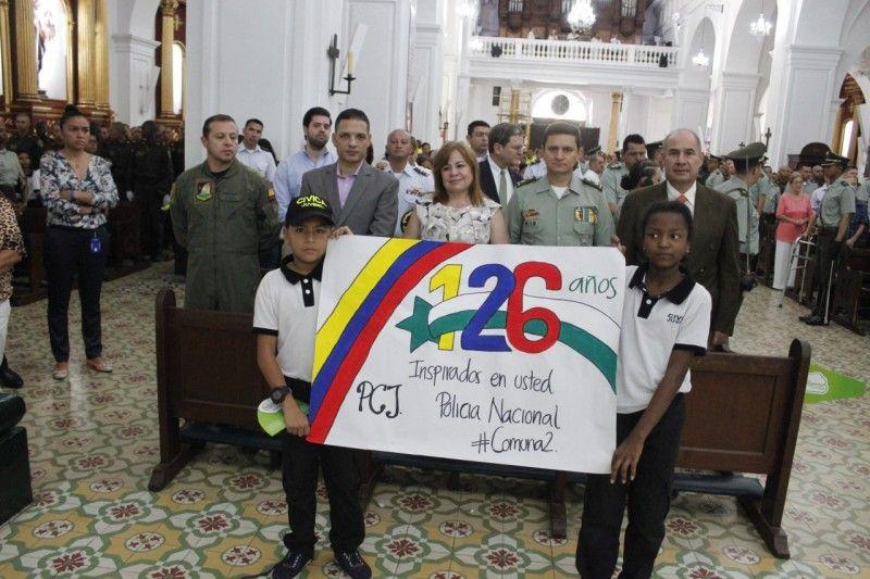 Policía Nacional inició celebración de su 126° aniversario
