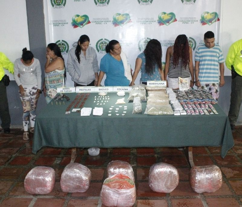 Desarticulada línea de expendio que operaba en los barrios Olaya Herrera y La Isla