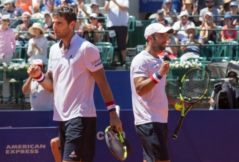 Juan Sebastián Cabal y Robert Farah clasificaron a semifinales del ATP 500 de Barcelona
