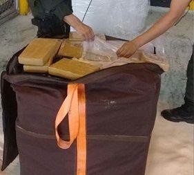 Incautada tonelada de cocaína camuflada en sacos de azúcar