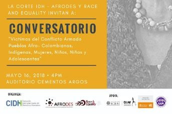 Comunidades afrocolombianas eindígenas exponen su situación ante representantes de la CIDH
