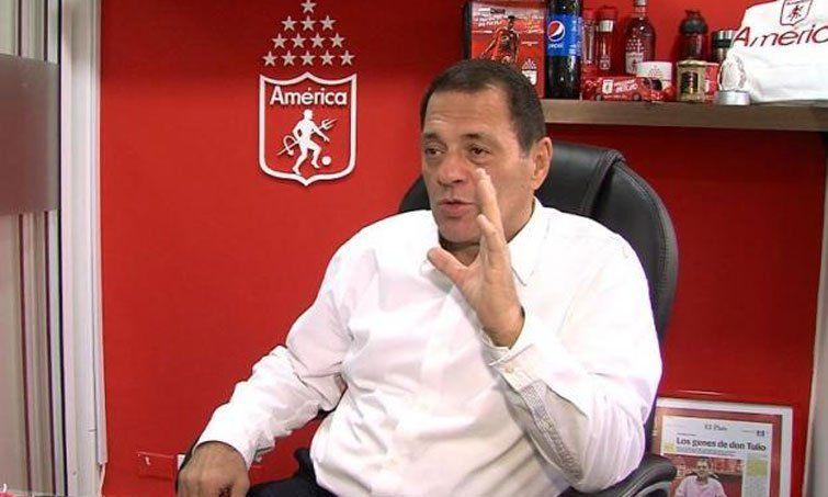 Tulio Gómez renunció a la presidencia del América de Cali