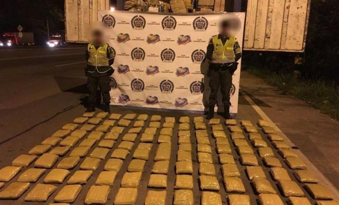 Incautados más de 700 kilos de marihuana en vías del Valle del Cauca