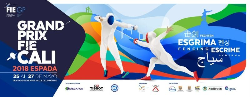 Cali será la sede principal del Grand Prix de la Federación Internacional de Esgrima