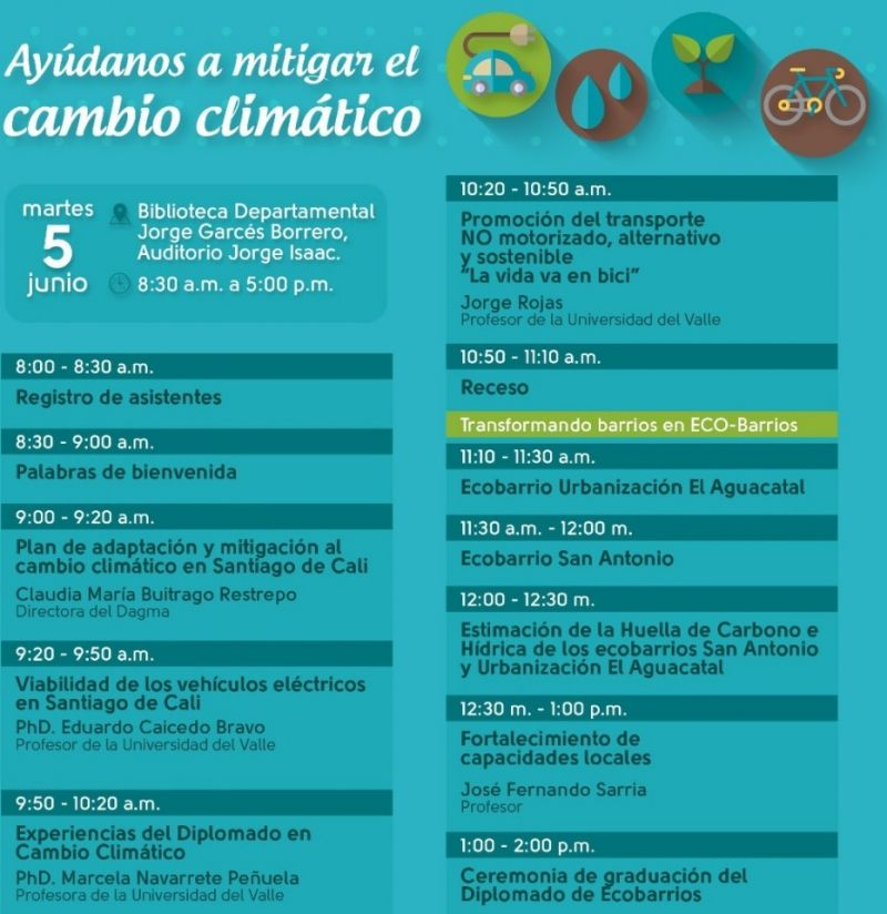 Experiencias de transformación en Ecobarrios caleños serán socializadas este 5 de junio