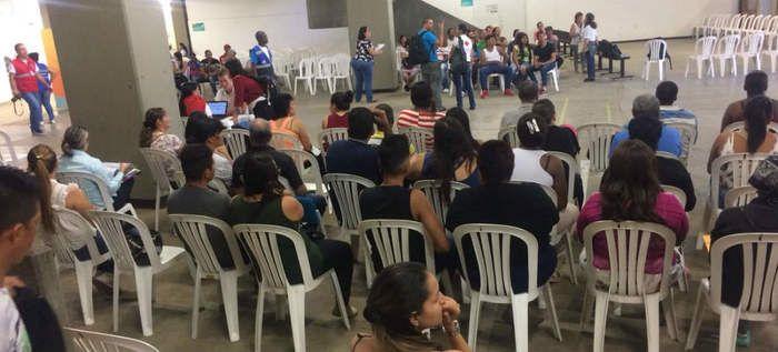 Jornada masiva para declaración de víctimas se realiza en Cali