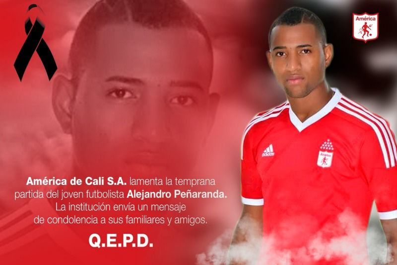 Sicarios asesinan al ex jugador escarlata Alejandro Peñaranda
