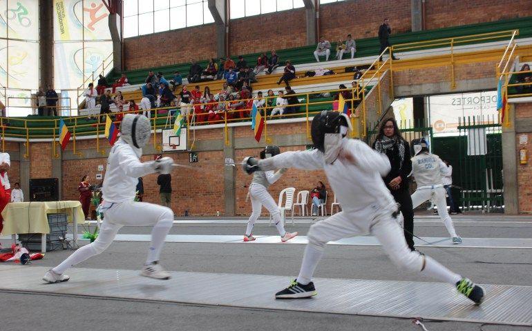 Valle del Cauca sacó 54 medallas en el III Escalafón Nacional Infantil de esgrima