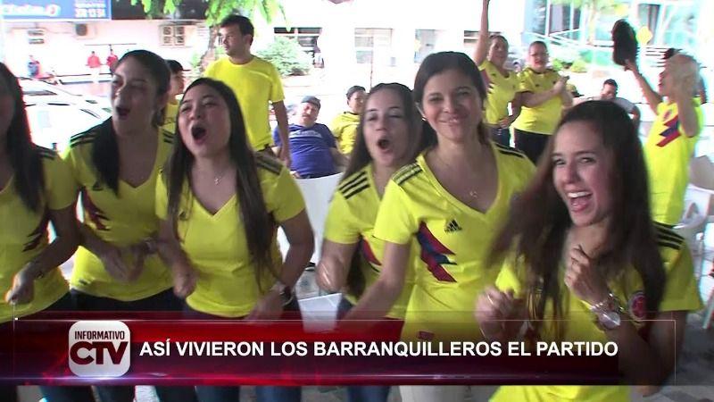 El drama en imágenes de el Colombia -Japón