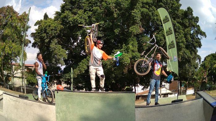 En fotos: Mejores exponentes del BMX demostraron calidad en el Alberto Galindo