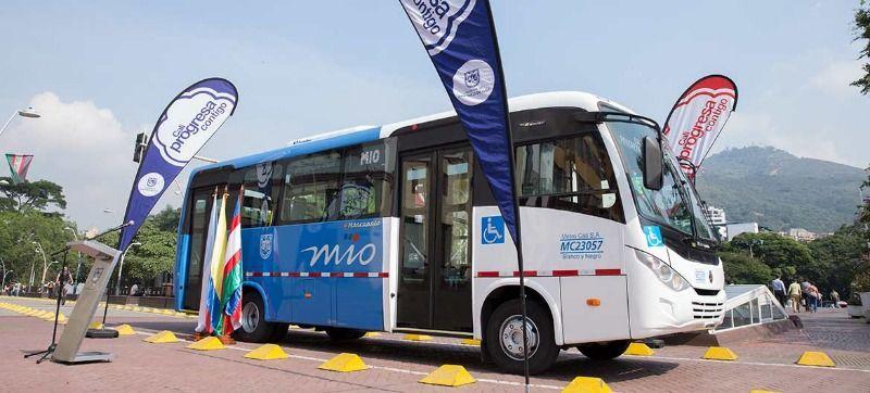 Conozca el prototipo de los 52 buses duales que reforzarán el MIO