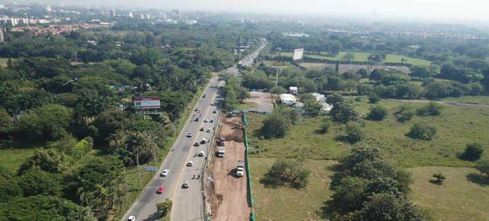Avanzan trabajos de ampliación en la vía Cali–Jamundí