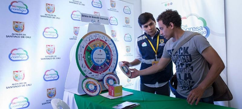Emprendedores caleños tuvieron vitrina en Feria de Servicios y Vivienda