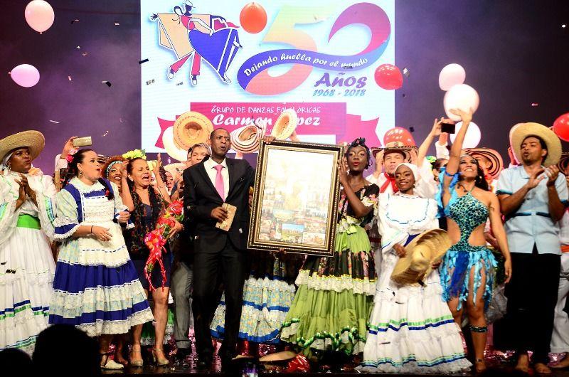"""Cincuentenario del Grupo de Danzas Folclóricas """"Carmen López"""""""