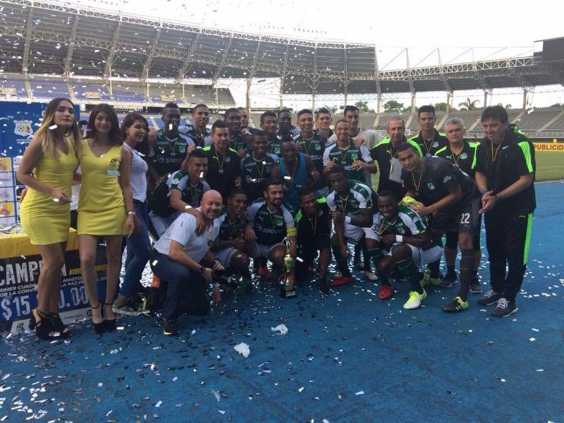 Deportivo Cali salió campeón el domingo ante Once Caldas y Quindío