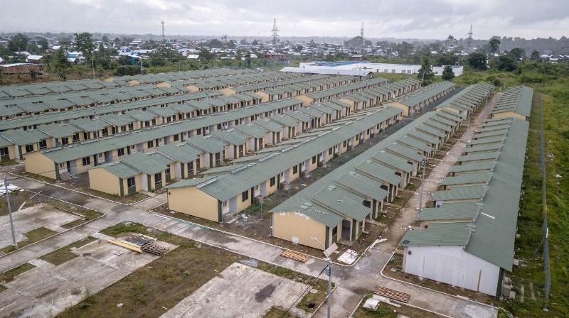 Comfenalco Valle construyó más de 330 viviendas para familias nariñenses