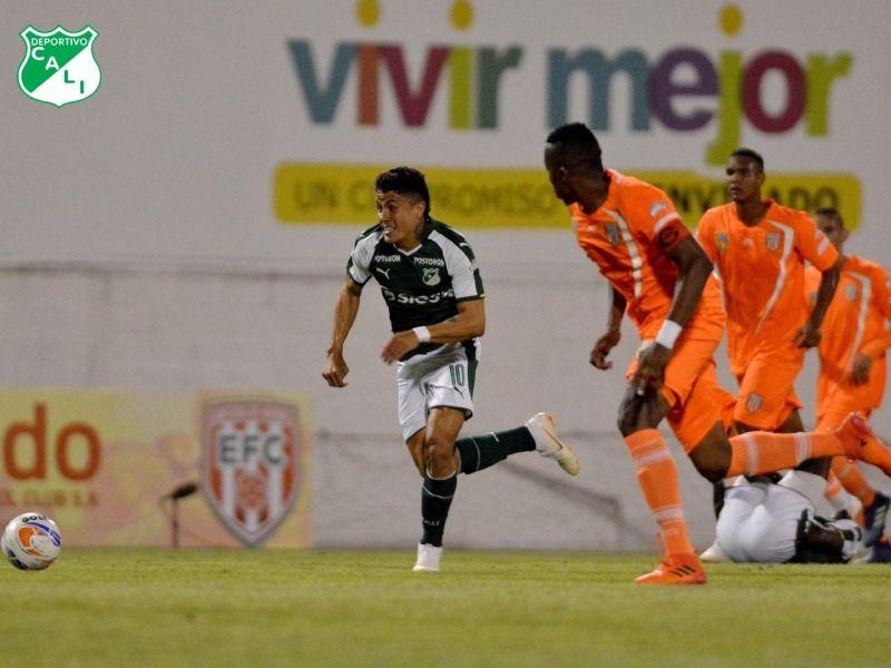 Deportivo Cali empató contra Envigado 1-1 en el Polideportivo Sur