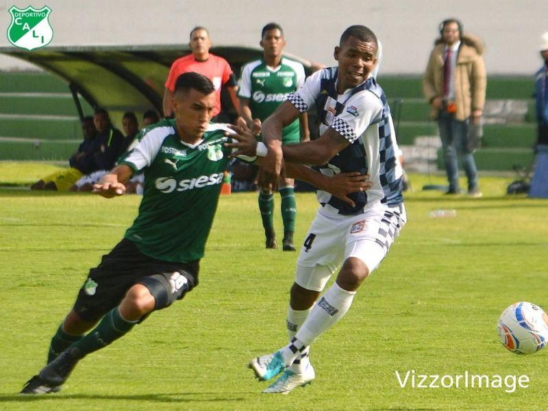 Deportivo Cali empató a un gol con Boyacá en Tunja