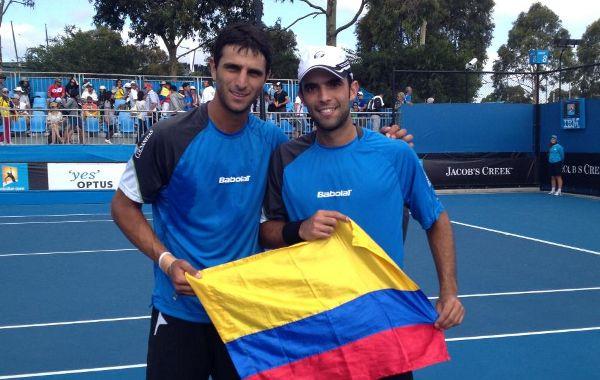 Juan Sebastián Cabal y Robert Farah llegaron a Cincinnati para el US Open