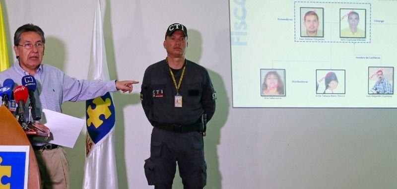 Desmantelada organización delincuencial que envió droga en bus accidentado en Ecuador