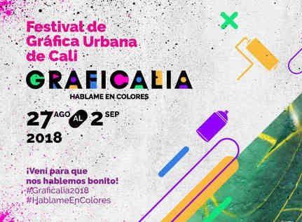 Esta será la programación del Festival Graficalia 2018