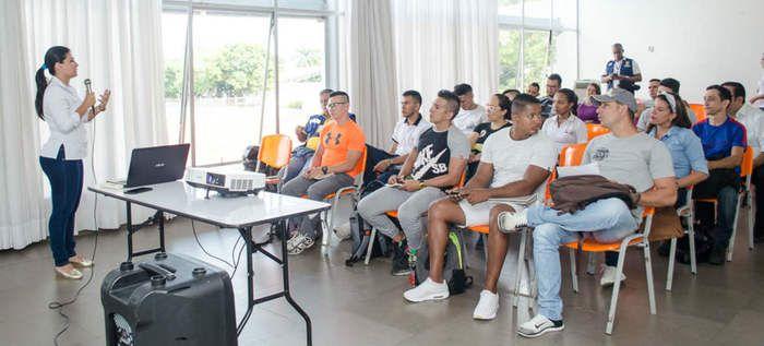 Este fin de semana se realizaron capacitaciones para profesionales en deporte y actividad física