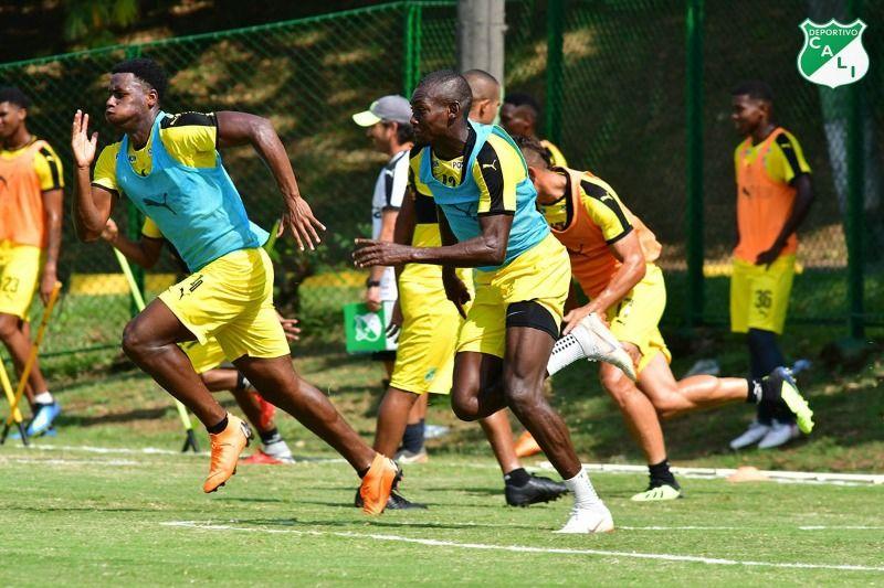 En fotos: Deportivo Cali se prepara para enfrentar al Atlético Junior