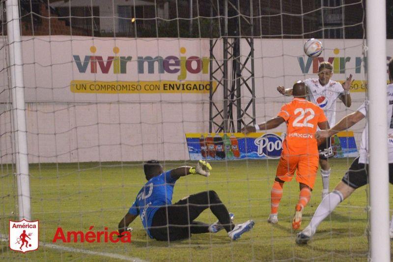 América de Cali empató con Jaguares 1-1 en el Pascual Guerrero