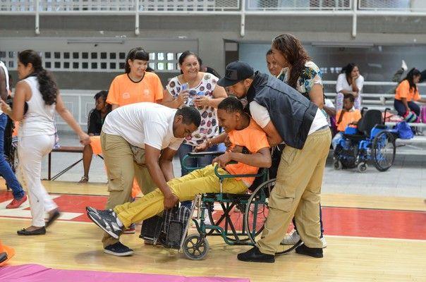 Mire cómo fue el programa deportivo para personas con discapacidad en Cali