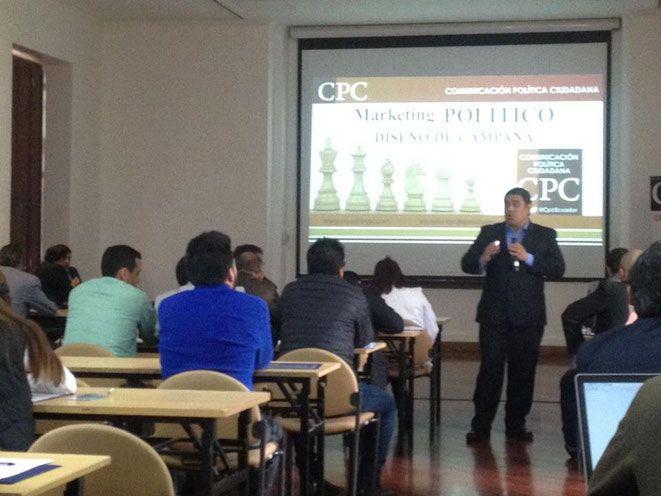 Consultor internacional dictará taller de marketing político en Cali