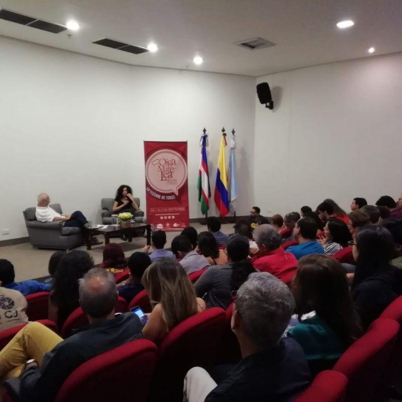 Festival Internacional de Literatura Oiga Mire Lea
