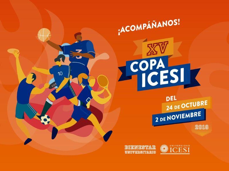 Estudiantes de 13 universidades se dan cita en la XV Copa Icesi