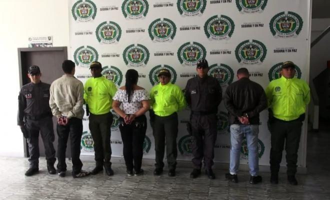 """Desarticulado grupo delincuencial """"Los Caucanos"""", vinculados al Narcobus"""