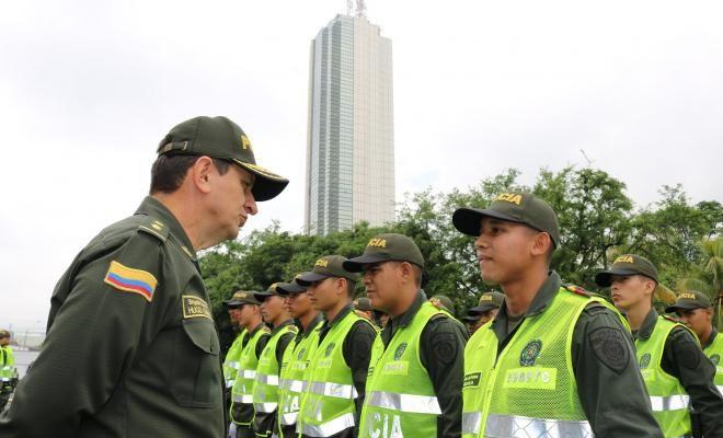 Policía Metropolitana de Cali ingresa a 289 nuevos funcionarios a sus filas