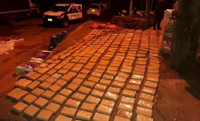 Incautadas 280 kilos de marihuana a organización vinculada al ELN