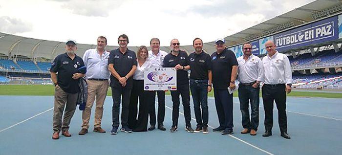 """Fundación Aces Europe proclamó a Cali como la """"Capital Americana del Deporte"""""""