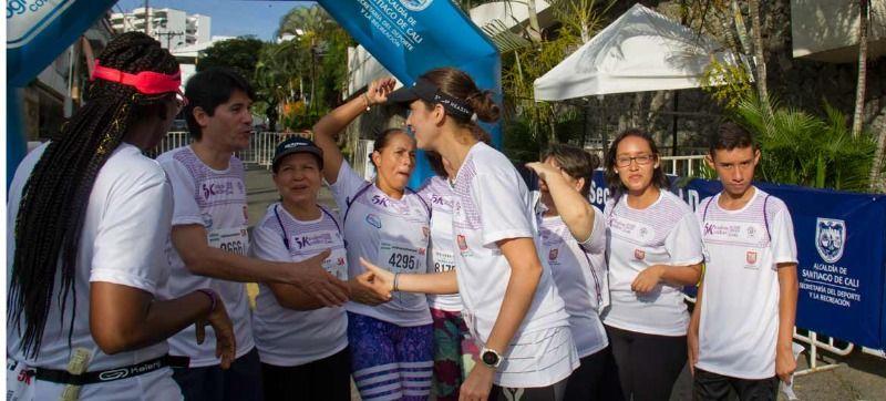 5k:  Por la no violencia contra la mujer