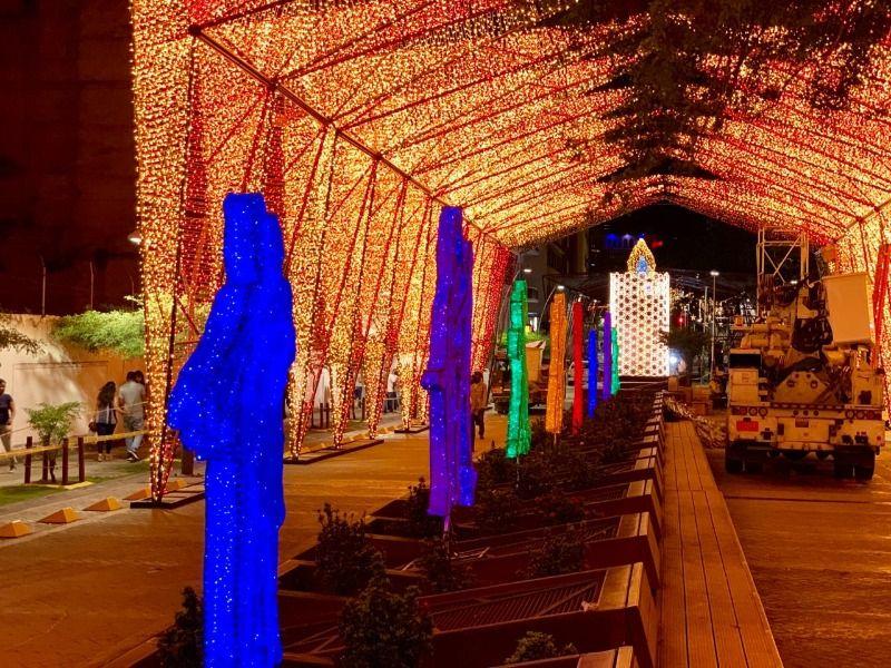 Exhortan a la ciudadanía a cuidar el alumbrado navideño próximo a inaugurar