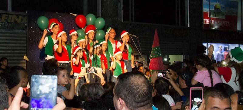Así fue el encendido de la Navidad en Cali