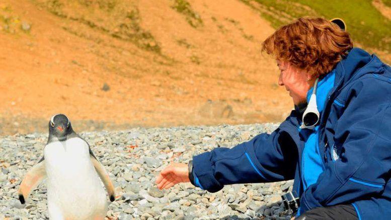 Ángela Posada Swafford compartirá su bitácora expedicionaria antártica en Cali
