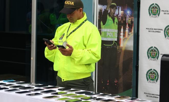 Más de 1.400 celulares han sido incautados en operativos