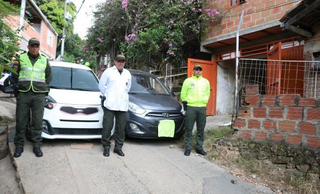 Policía halló desguazadero de carros y capturó a tres presuntos ladrones