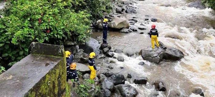 Autoridades no reportaron graves daños en la ciudad a consecuencia de las lluvias