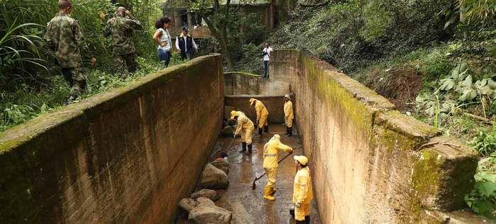 Realizada cuarta jornada de limpieza en la Quebrada Isabel Pérez