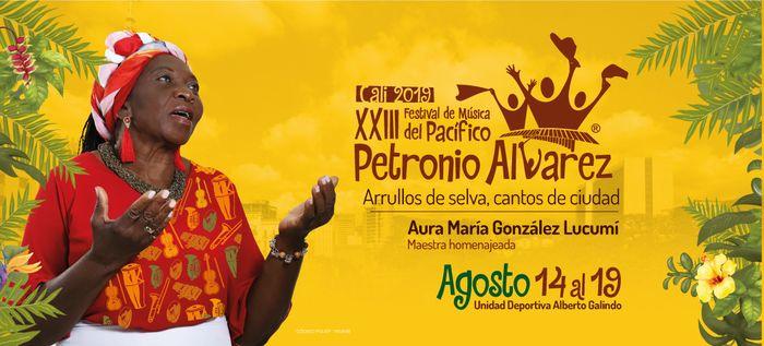 Afiche del Petronio Álvarez enaltece labor de la mujer en la cultura del Pacífico