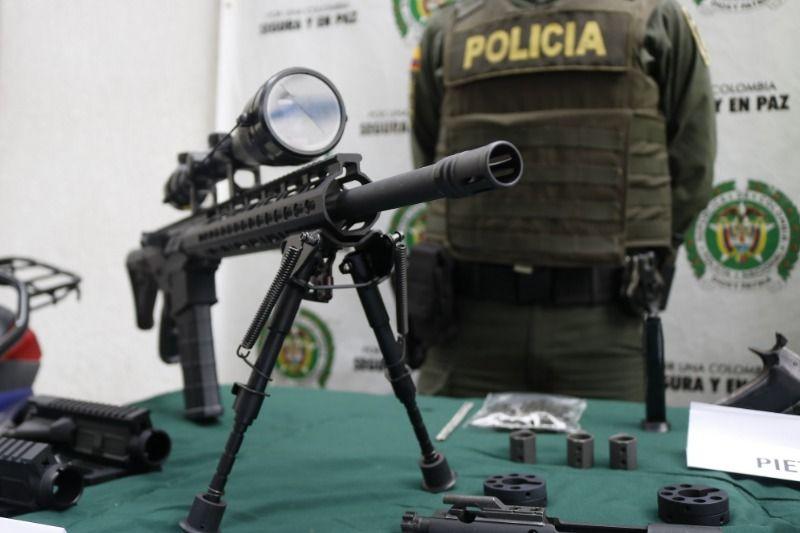 Incautado material de guerra en barrio Guayaquil